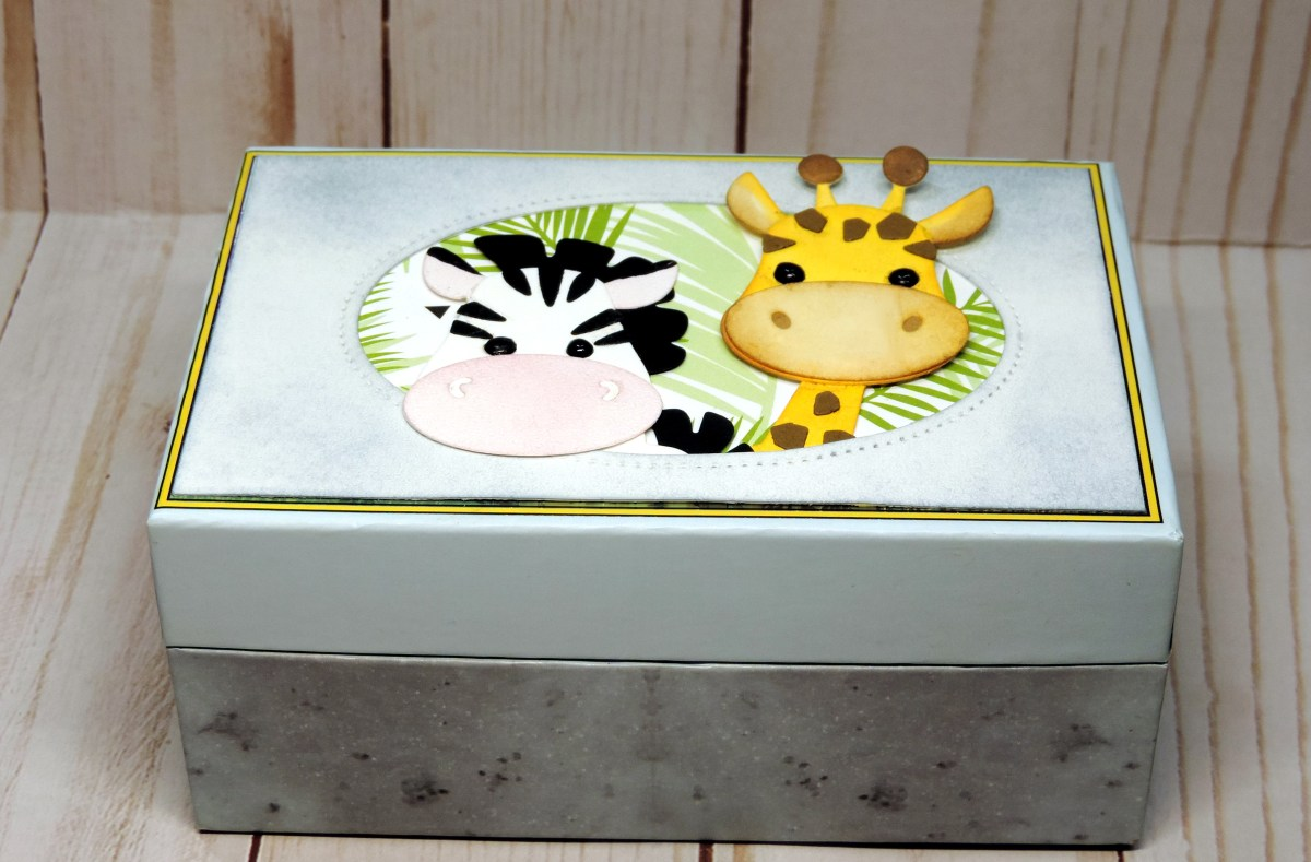 DIY Safari Animal Gift Box